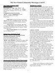 MESSENGER The news of Calvary, Southminster & St. James - Page 5