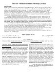 MESSENGER The news of Calvary, Southminster & St. James - Page 6
