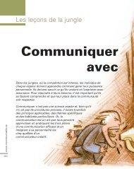Communiquer avec - Consult-IIDC