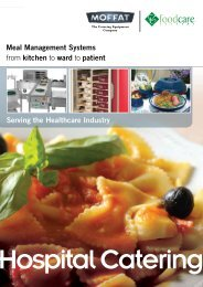 Serving the Healthcare Industry Meal Management Systems ... - CESA