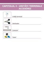 Unitati terminale. Accesorii - tehnoplus medical
