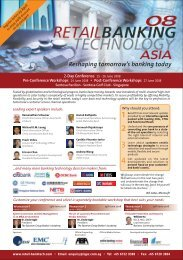 Reshaping tomorrow's banking today - Asian Bankers Association