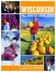 2007-08 Fall Winter Events2 - Visit Wisconsin, Come Visit ...