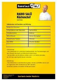 Kalbsbraten mit Bockbier  und Wirsing - Radio Salü