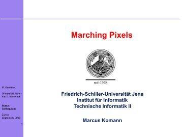Marching-Pixels: Ein Konzept zur Ausnutzung von Emergenz ... - KIT