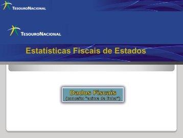 Estatísticas Fiscais de Estados