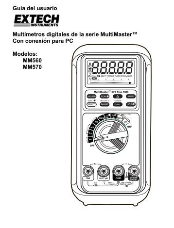 MM560 MM570 - Extech Instruments