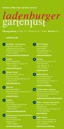 Ausstellerverzeichnis2013 - Pflanzenhandel Huben GmbH