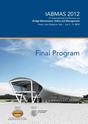 Final Program - iabmas 2012