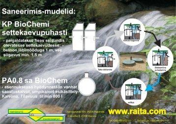 PA SA puhastid - Raita Environment