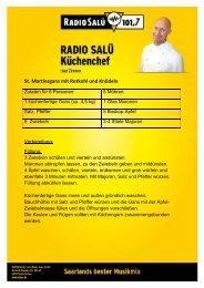 St. Martinsgans mit Rotkohl und Knödeln - Radio Salü