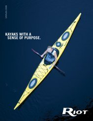 KAYAKS WITH A SENSE OF PURPOSE. - Pro Kajak