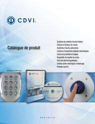 Catalogue de produit
