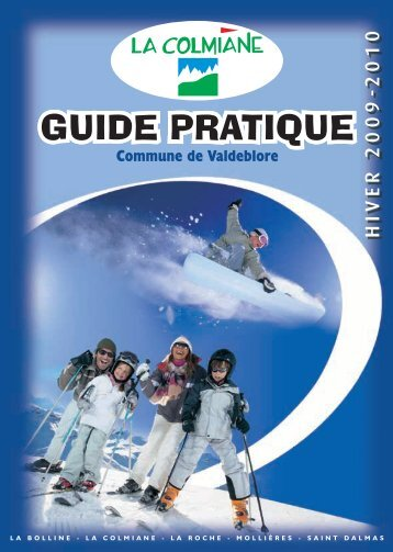 GUIDE PRATIQUE - Office du tourisme de la Colmiane