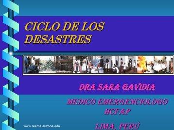 Ciclo de los Desastres - Reeme.arizona.edu