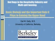 Bed Bugs in the Hospitality Industry - National Pest Management ...