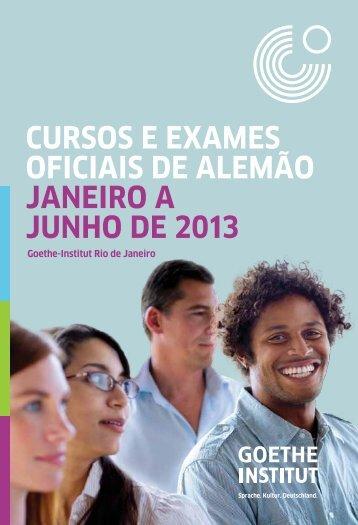 Goethe-Institut Folder 1° semestre 2013 - CEFET/RJ – Portal de ...