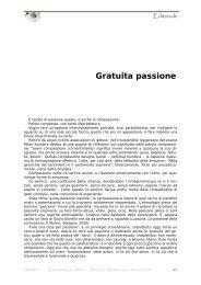 Gratuita passione - Amaltea