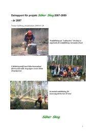 Verksamhetsrapport 2007 (PDF) - Säker Skog