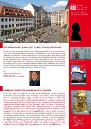 Download Spendenaufruf (pdf 312.5 kB) - Leipzig: Richard Wagner ...