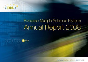 EMSP Annual Report 2008.pdf - European Multiple Sclerosis Platform