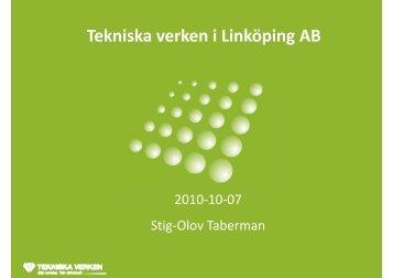 T k i k k iLi kö i AB Tekniska verken i Linköping AB