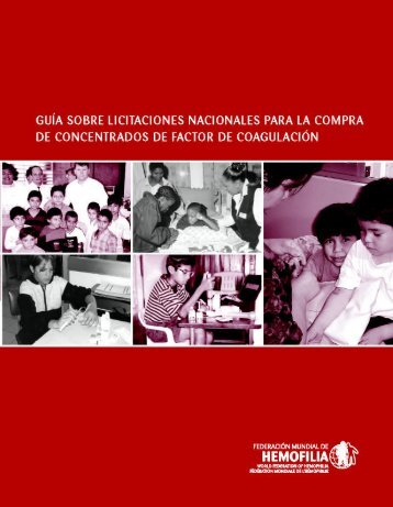 Guía - World Federation of Hemophilia