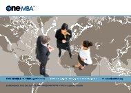 www.OneMBA.org - MBA School Profile