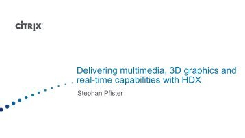Delivering multimedia, 3D graphics and real-time ... - Digicomp