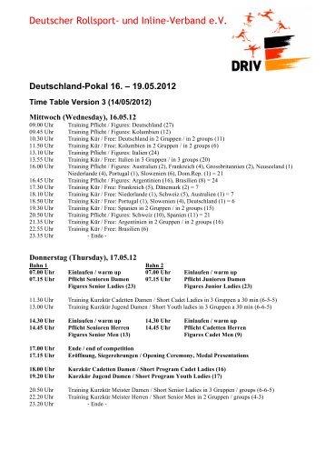 Deutschland-Pokal 16. - Deutscher Rollsport- und Inline- Verband e.V.