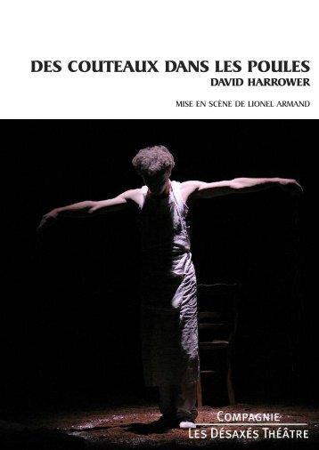 Télécharger le dossier de présentation - Compagnie Les désaxés ...