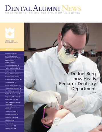 Dental Alumni News - University of Washington School of Dentistry