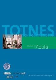 TOTNES School of English