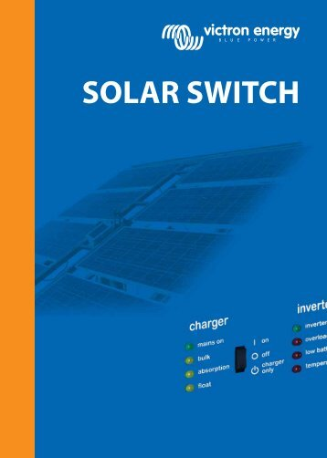 SOLAR SWITCH - Solarni paneli