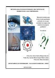 Métodos Qualitativos de Pesquisa - Escola Médica Virtual da ...