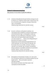 Entwurf Leistungsverzeichnis Steuerbares horizontales ... - Egeplast