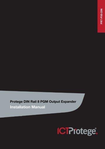 Protege DIN Rail 8 PGM Output Expander