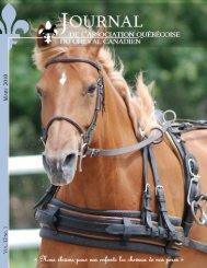 Volume 12-1 Mars 2010 - Association québécoise du cheval canadien