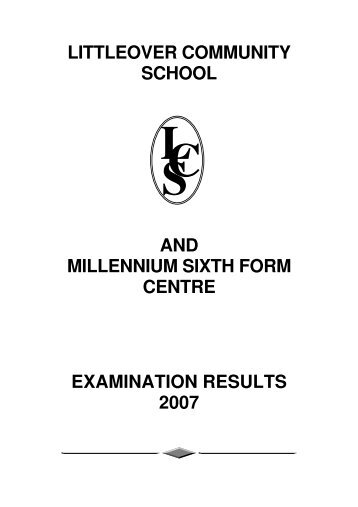 littleover community school and millennium sixth form centre ...