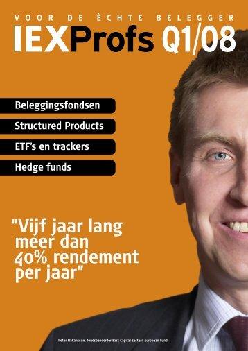 Aandelen Europa - Iex