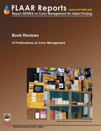 Color Management books - Digital photography camera reviews