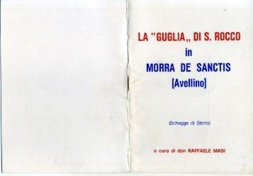 Raffaele Masi La Guglia di S. Rocco a Morra De Sanctis