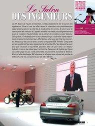 81e salon de Genève - Magazine Sports et Loisirs