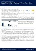 Legg Mason Multi-Manager Balanced Fund (Euro)* - Seite 2