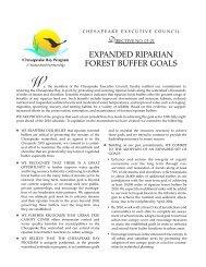 rip forest buffer directive.qxp - Chesapeake Bay Program