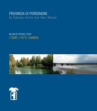 Bilancio_Sociale_2009 - Provincia di Pordenone