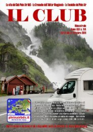 Numero 114 - Anno XIX, Settembre/Ottobre 2011 - Club Plein Air BdS
