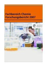 Forschungsbericht 2007 - Fachbereich Chemie