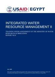 Report 8 MWRI Training Needs Assessment