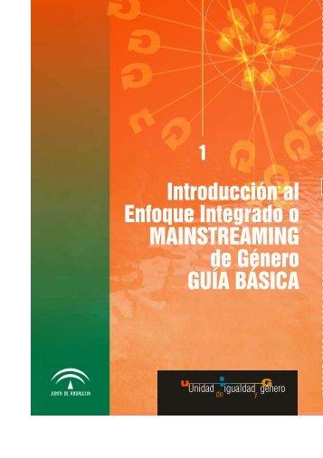 Introducción al Enfoque Integrado de Género - Guía Básica